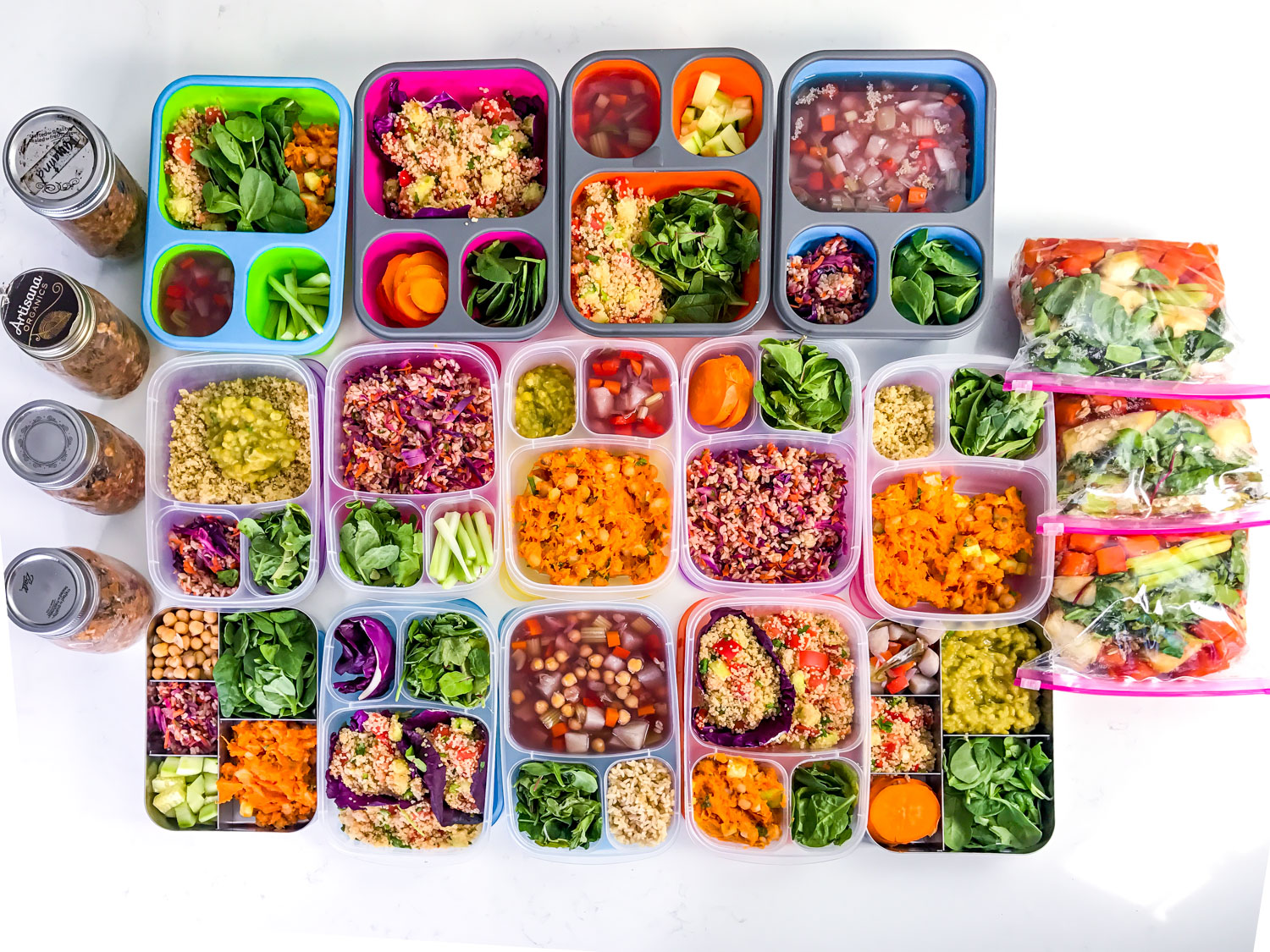 Guide to Easy Meal Prep faviana