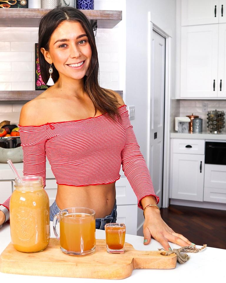 yovana with drinks