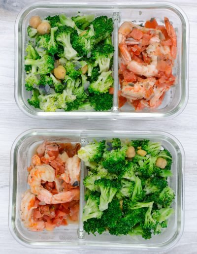 shrimp and brocolli