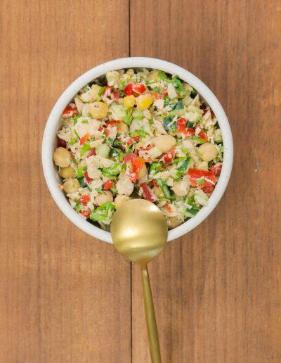 garbanzo tuna salad